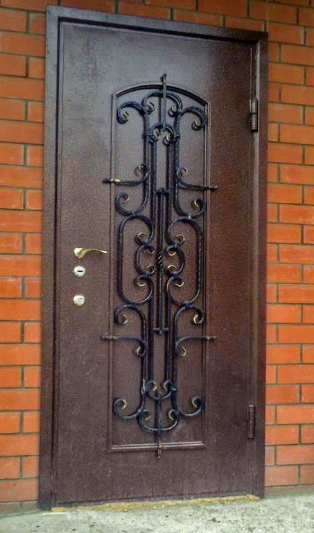 двери из металла железные