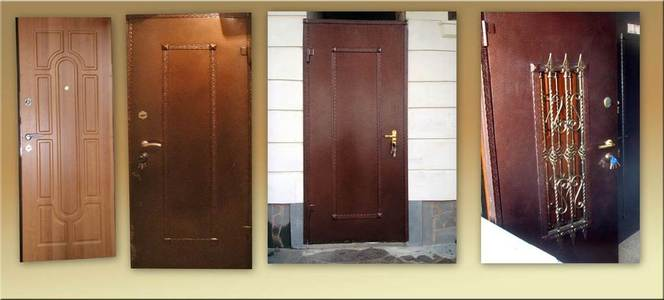 металлические двери изготовление под заказ